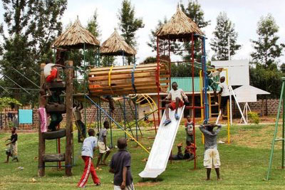 The Amani Children's New Playground photo