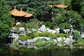 Chinese Garden of Friendship, Darling Harbour, Sydney photo