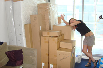 Ikea shopping for our new flat photo