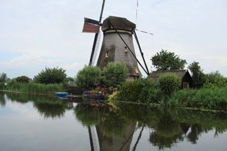 Kinderdijk Windmills, Holland, The Netherlands photo
