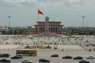 Tiananmen Square, Beijing, China photo