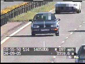 Wiltshire Police Safety Camera Partnership M4 photo