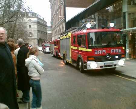 False Alarm at Apex City Hotel London