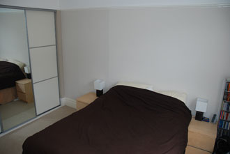 Bedroom - Furnished 1 bedroom flat to rent in Hove
