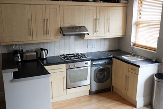 Kitchen - Furnished 1 bedroom flat to rent in Hove